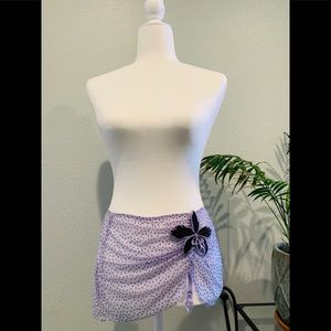 Victoria Secrets Mini Skirt with Garter Straps